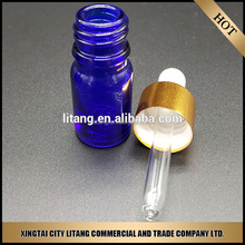 Wholesal 15ml natural essential oil dropper bottle 15ml frosted clear perfume bottle glass bottle with rubber stopper