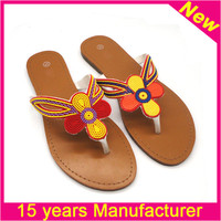 Chaozhou 15 years factory for women rubber slipper