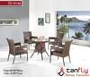 newest garden wicker furniture rattan dining chairs