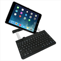 Folio Style cover with Multiple Viewing Angles And 360 Degree Rotating Bluetooth Keyboard For 9.7 Inch iPad Air