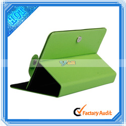 Whosale!!!Leather Embossed Cover Case Protecting Jacket for 7 InchTablet PC Light Green