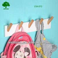 Decorative wall mounted coat racks