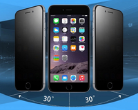 privacy tempered glass screen protector film for iPhone 6 5.5
