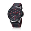 black red dial