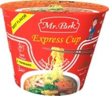 Mr. Park Express Cup Ramen Beef 65g
