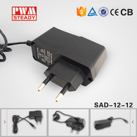 Electrical Transformer 12V 1A AC DC Adapter For LED CCTV Camera 12W Switching AC DC power supply circuit