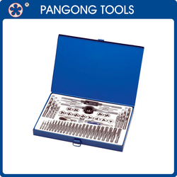 Global Hot Selling Metal Tools 52pc Tap and Die Set China Supplier