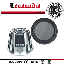 700W RMS / 1400W Max power, dual magnet best car powered subwoofer