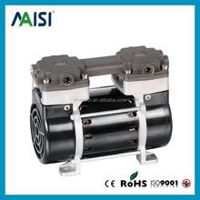 electric silent oil free vacuum pump, mini vacuum pump, silent compressor pump