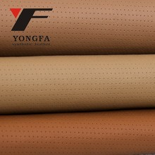 ANGLE HOLE Pu fabric washable leather textile for shoe vintage leather pu upper shoes material indian fabric wholesale