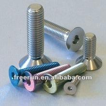 High precision and lowest price Titanium Hexagon Head Socket Screws