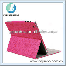 New Cute Korean Cartoon Case Pink PU Leather Cover Case for iPad mini
