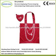 bolsa de poliéster promocional amigable eco