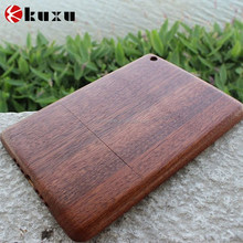Wooden fashion design case for Apple ipad