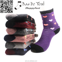 women Christmas gift thermal thicken wool soft student fashion boot socks size41-46 wholesale