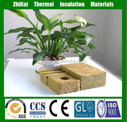 60kg/m3 agricultural hydroponic rock wool made in China