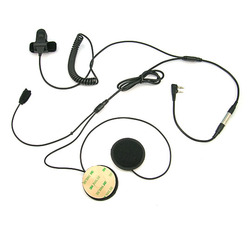 [Q-E316340-K]Motorcycle racing helmet headset with motocycle PTT for walkie talkie headset