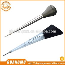 Multifunctional Turkey Baster Poultry futuristic Cosy Beef Heat Tube Rubber Bulb Basting Tool
