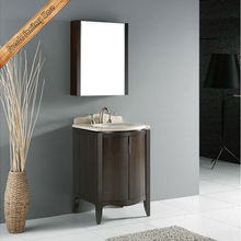 Modern floor mount movable mirror small bathroom furniture ideas