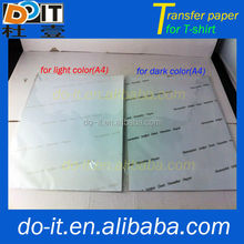 Best Quality Heat Transfer Paper for Pure Cotton T-Shirt,transfer printing paper