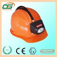 ATEX mining safety cree led cordless miner cap lamp