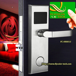 High quality electronic swipe card hotel room locks
