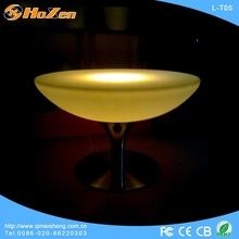 Straight LED Tables Decorative Lighting Design Illuminated LED Bar Counter