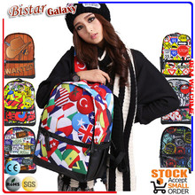 2015 popularly canva strending hot products backpack for school waterproof back pack BBP127