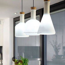 Modern crystal pendant lamp & silver pendant light