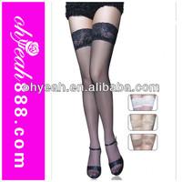 High fashion pretty sexy photos girl sexy stocking black silicon nylon stockings wholesale