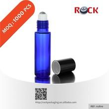 10 ml bouteille en verre avec personnaliser roller ball et cap pour les huiles essentielles emballage solution