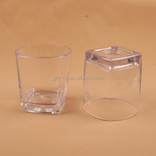 High transparent acrylic cups or containers