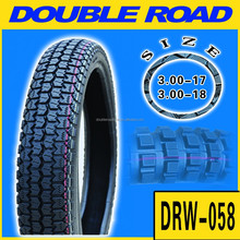 CCC Certified China Manufacturer High Quality Motorcycle Tyre 300 - 18