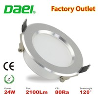 Top selling dimmable 24W LED ceiling downlights 10 inch with Economic ultra slim body CE&ROHS