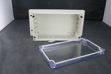 ip65 clear plastic electrical connection box wall mount