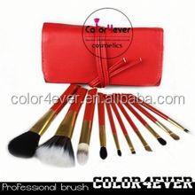Hot cosmetic bag,china makeup kit,wholesale makeup case double sided makeup brush