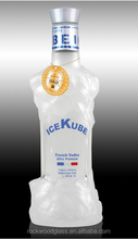 Icekube vodka glass bottle V026