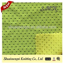 in-stock polyester soft mesh net for outdoor bag, backpack