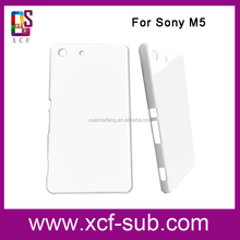 Heat Transfer Phone Cover Case for Sony M5, 3D Sublimation Back Cover for Sony, For Sony Mobile Phone Housing