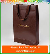 High Quality And Fancy Customized Printed Luxury Paper Shopping Bag, Paper Shopping Bag Brand Name