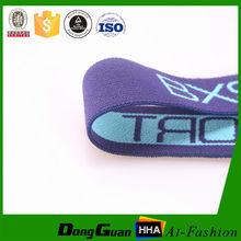 De calidad superior personalizada colored elastic band para pantalones de cintura