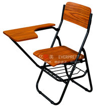 Folding Study Chair with Writing Pad/ Folding Table and Chair/Cheap Folding Table and Chairs