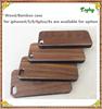 Promotion! Black Walnut Wood Cheap Mobile Phone Case for iPhone6, funky rose wood case for iphone5 for sales,oem wood case