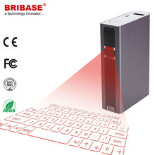 Bribase External Bluetooth Virtual Laser Keyboard Projected for Mobile Phone