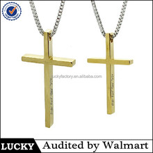 Wholesale gold filled pendant.gold cross pendant