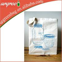 Oversized Reusable Cotton Shopper Tote Bag