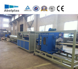 pvc pipe extrusion production line, pvc pipe extrusion machine