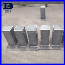 steel fence and posts