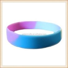 Transgender Pride Silicone Bracelet Trans Transgendered Gay Pride Bracelet