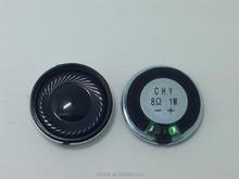28mm 1.5w 8ohm Fo-10KHz Mylar cone speaker